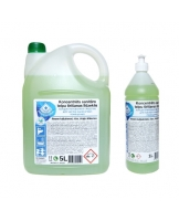 Concentrated cleaning detergent for sanitary premises