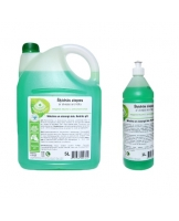 Liquid soap with aloe aroma